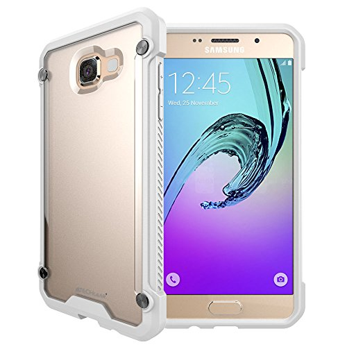 TECHGEAR Galaxy A3 2016 Hülle - [Fusion Armor] Schlanker Hybrid, Stoßfänger-Hülle, Stoßfest, TPU-Schutzhülle Kompatibel mit Samsung Galaxy A3 2016 Case (SM-A310 Serie) (Frost/Weiß)