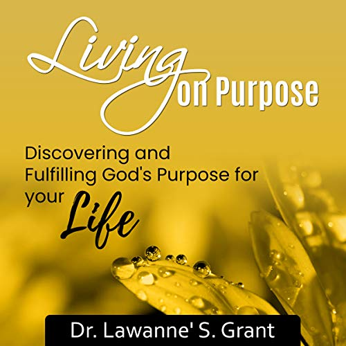 Living on Purpose audiobook cover art