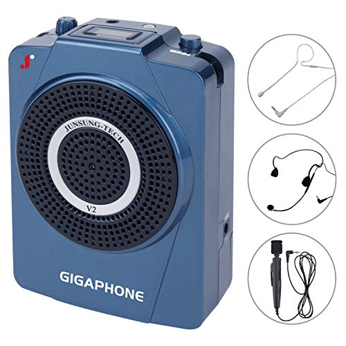 GIGAPHONE V2 40W Portable Voice Amplifier with Microphone