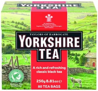 Taylors of Harrogate Yorkshire Red 80 Teabags product image