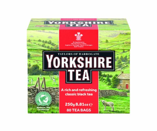 Taylors of Harrogate, Yorkshire Black Tea 80 bolsas - 1 unidad