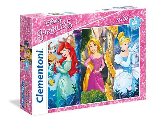 Clementoni- Disney Princess Los Pingüinos De Madagascar Puzzle, 60 Piezas, Multicolor (26416)