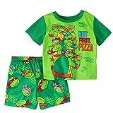 Teenage Mutant Ninja Turtles Boy 2 PC Short Sleeve Pajama Set Size 5T