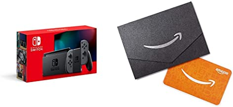 Nintendo Switch with Gray Joy‑Con - HAC-001(-01) with $25 Amazon.com Gift Card