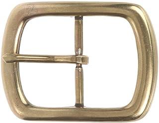 BBBelts Men 1-1//8 Black Oil-Tanned Cowhide Antique Silver Snap On Buckle Belt