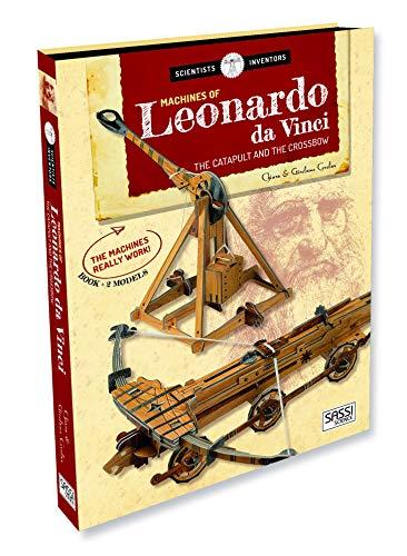 Machines of Leonardo da Vinci. The catapult and the crossbow. Scientist and inventors. Con 2 gadget (Science)