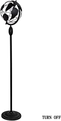 QAZQA Moderno Lámpara de pie moderna redonda orientable ...