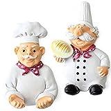 condello casa resina tamaño pequeño chef - Utilidad - Ganchos de pared percha...