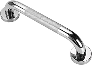 Sumnacon 12 Inch Bath Grab Bar with Anti-Slip Grip, Sturdy Stainless Steel Shower Safety Handle for Bathtub,Toilet, Bathroom,Kitchen,Stairway Handrail,Come with Mounted Screws