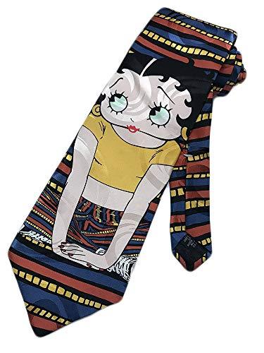 Ralph Marlin Mens Betty Boop Cartoon Character Necktie - One Size Neck Tie