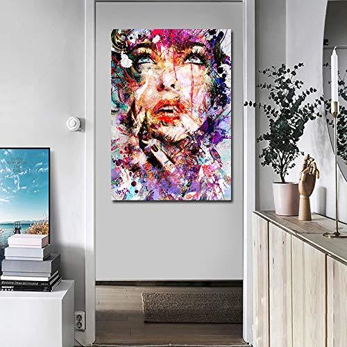 Moderne abstrakte Bild Grafik Druck auf leinwand Kunst Bild Wohnzimmer Dekoration Home Poster rahmenlose malerei 70x100 cm