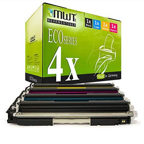 4X MWT kompatibel Toner fur HP Laserjet Pro 100 Color MFP M 175 p q a b r c e nw ersetzt CE310A 13A