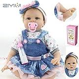 ZIYIUI Handgemachte Puppe Realistische Weiche Reborn Puppen Realistische 22 ' / 55 cm Mädchen...