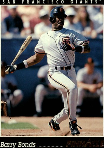 1993 Pinnacle Baseball Card #504 Barry Bonds