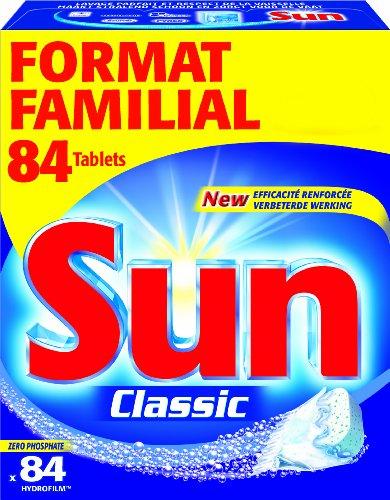 Sun Spülmaschinentabs Classic, Standard, 84 Tabs