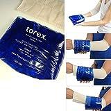 Torex Tubular de pequeña circunferencia pulsera de Gel de Terapia de Frío y calor, reutilizable–Profesional, Arto Max de 25cm,