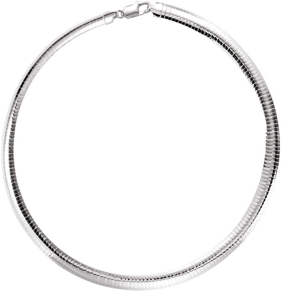 Ryan Jonathan Fine Jewelry wholesale Sterling Silver Los Angeles Mall Solid Nec Omega Chain
