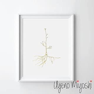 brain neuron art
