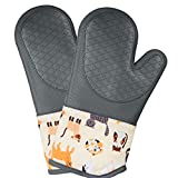 Funny Cats Design Heat Resistant Silicone...