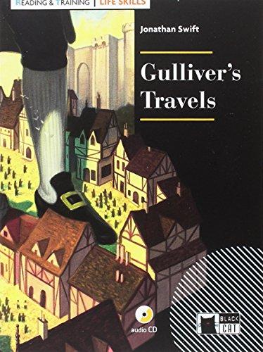 GULLIVER'S TRAVELS+CD LIFE SKILLS Black