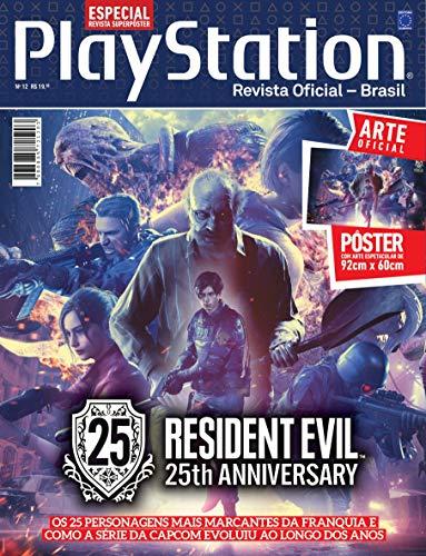 Superpôster PlayStation - Resident Evil 25th Anniversary