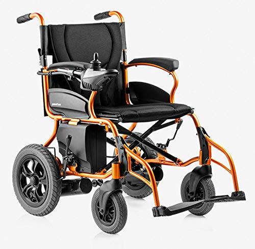 BTHDPP Opvouwbare, lichte draagbare elektrische rolstoel, automatische transport-multifunctionele gemotoriseerde rolstoel voor volwassenen van oudere gehandicapten.