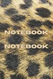 Notebook: College Ruled - B4 - Medium (6 x 9 inches) - Premium, Soft, Matte, Leopard - 100 Pages || Leopard Print Cover Notebook