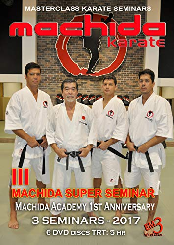 Machida Karate III Super Seminar -3 Seminars in one day. (6 DVD Set)