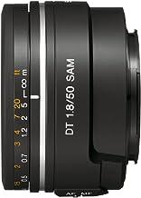 Sony SAL50F18 - Objetivo para Sony (Distancia Focal Fija 50mm, Apertura f/1.8-22) Negro