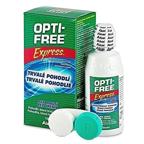 Soluzione unica per lenti a contatto OPTI-FREE EXPRESS 355ML + portalenti alcon