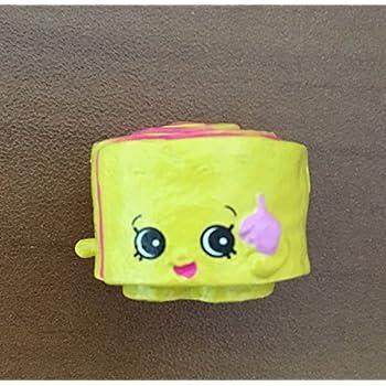 Shopkins Season 5 #5-077 Jilly Jam Roll Yello | Shopkin.Toys - Image 1