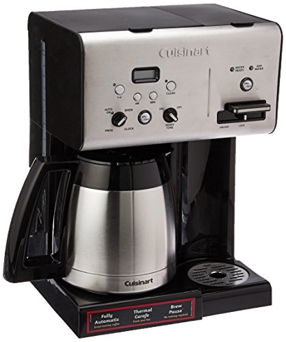 Cuisinart CHW-14 Coffee Plus 10-Cup Thermal Programmable Coffeemaker and Hot Water System, Black