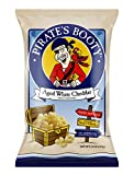 Pirate's Booty Aged White Cheddar Cheese Puffs, 10oz Party Size Bag, Gluten Free, Healthy Kids Snacks