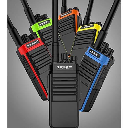 CALALEIE Civil Función de alarma de mano walkie talkie Soporte GT-828 8W coche Herramienta de piezas de automóviles (Color : Orange)