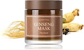 [I'M FROM] Ginseng Mask, detox, elasticity, prevent fine lines, 3.97% ginseng extract, 120g, 4.23oz