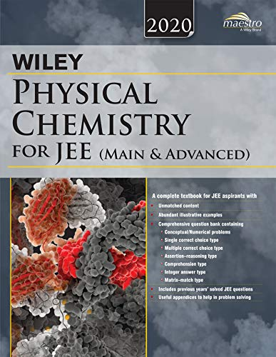 Wiley's Physical Chemistry for JEE (Main & Advanced), 2020