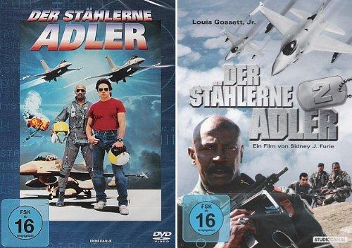Der stählerne Adler 1 + 2 (DVD 2er Set)