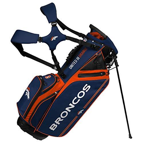 Denver Broncos Caddie Carry Hybrid Golf Bag