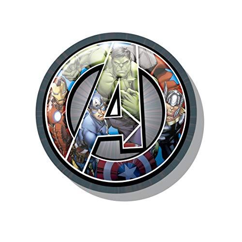 Takestop® rundes Kissen Avengers Cartoon Marvel Hulk Captain America Thor Iron Man SOFFICE grau warm Winter Haus Dekoration Zimmer Zimmer Zimmer Zimmer Zimmer Kinder Geschenk