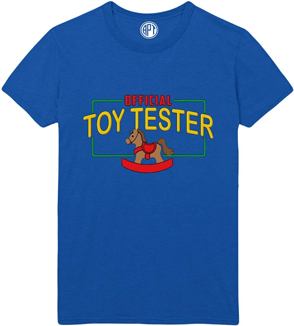 Official Toy Tester Printed T-Shirt