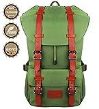 Fjorda Rucksack Fidelio - Als Handgepäck, für die Schule oder Uni, mit Laptop-Fach bis 17 Zoll -...