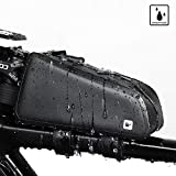Rhinowalk Bike Bag Bike Top Tube Bag Bike Frame Bag Stable Bicycle Frame Bag Bicycle Bag Professional Cycling...