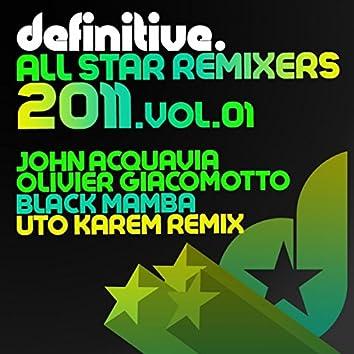 All Star Remixers 2011, Vol. 1
