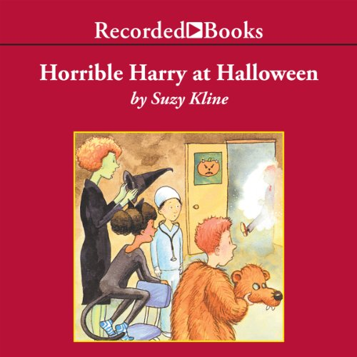 Horrible Harry at Halloween audiobook cover art