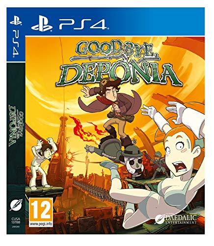 Goodbye Deponia (PS4 Italiano)