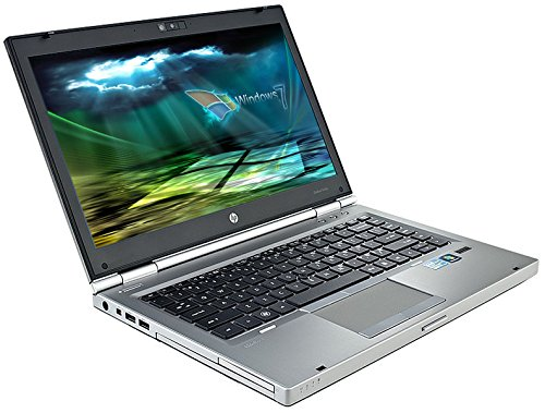 HP Elitebook 8460p Business Notebook # 14.1in WUXGA+ , Intel Core i5 2.5GHz , 4GB RAM , 320 GB HDD, WLAN, BT, USB 3.0, Win7 Pro, (Generalüberholt)