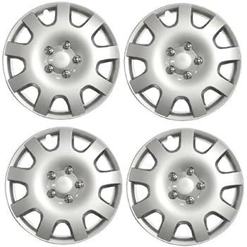 Valve Caps /& Ties Wheel Trims 15 CITROEN C5 01-09 Set of 4 Covers