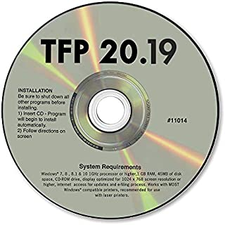 TFP 2019 Tax Form Software for 1099 & W2 Forms ~ Software for Small Business
