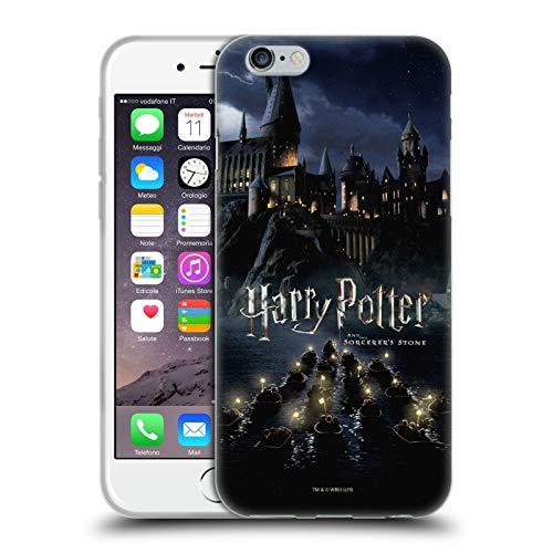 Head Hülle Designs Offizielle Harry Potter Burg Sorcerer's Stone II Soft Gel Handyhülle Hülle Huelle kompatibel mit Apple iPhone 6 / iPhone 6s