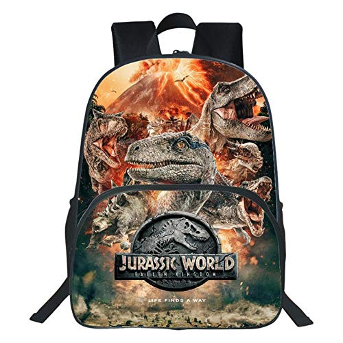 Zaino per Bambini Jurassic Park Zaino per Scuola Elementare Zaino per Dinosauri 7